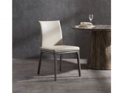 Stella Dining Chair / Gray Oak - Taupe