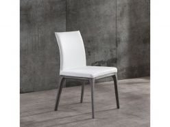 Stella Dining Chair / Gray Oak - White