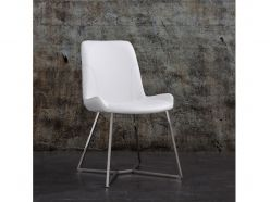 Aileen Dining Chair / White
