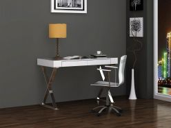 Odin Large Desk / White