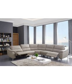 Veneto Recliner Leather Sectional