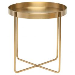 Gaultier Side Table / Gold
