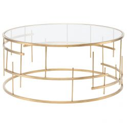 Tiffany Coffee Table / Gold