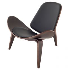Artemis Chair Dark Walnut / Black