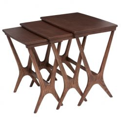 Josef Side Table Walnut Ash / Small
