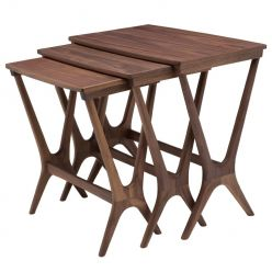 Josef Side Table Walnut / Large
