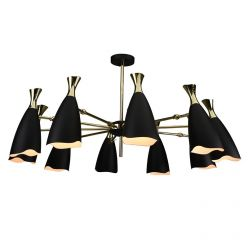Cella Pendant / Black Large