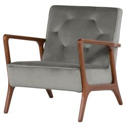 Eloise Chair / Smoke Grey