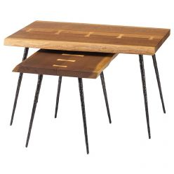 Nexa Nesting Side Table / Smoked