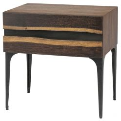 Prana Side Table / 1 Drawers