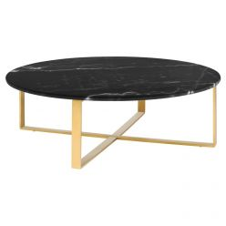 Rosa Coffee Table Gold / Black