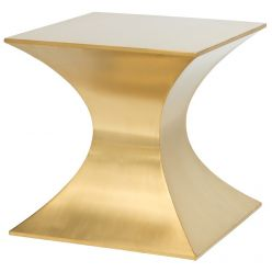 Praetorian Side Table / Brushed Gold