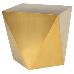 Penta Side Table / Brushed Gold