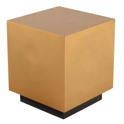 Peyton Side Table / Gold