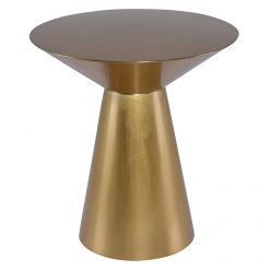 Owen Side Table / Gold