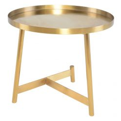 Landon Side Table / Gold