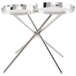 Olivia Side Table / Silver