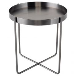 Gaultier Side Table / Graphite
