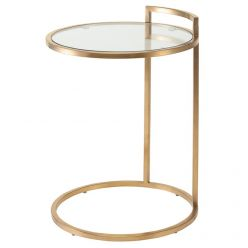 Lily Side Table / Gold