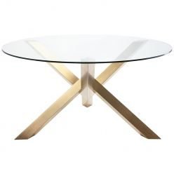 Costa Dining Table / Gold