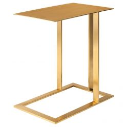 Celine Side Table / Gold