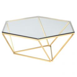 Louisa Coffee Table / Gold