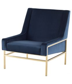 Theodore Chair / Peacock & Gold