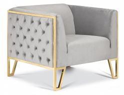 Kara Arm Chair Gold
