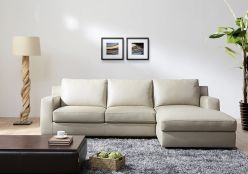 Dante Sectional Sleeper / Beige