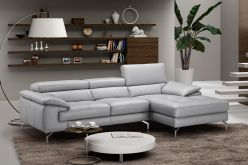 Clara Sectional / Light Grey