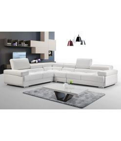 Rialto Leather Sectional