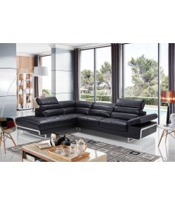 Ponza Leather Sectional