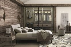 Napoli Bed / Taupe Fabric