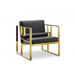 Mona Chair Gold / Black
