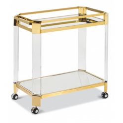 Oden Bar Cart / Gold