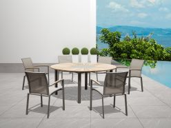 Sanctuary Outdoor Dining Table / Taupe