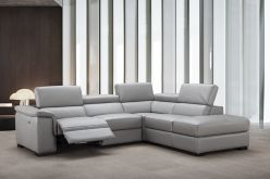 Dixon Recliner Leather Sectional
