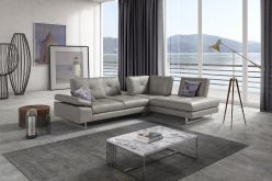 Alba Leather Sectional
