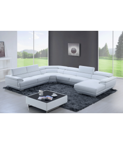 Ortigia Leather Sectional