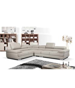 Amalfi Leather Sectional