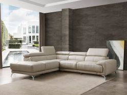 Anita Sectional / Light Gray