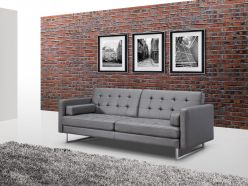 Jersey Sofa Bed / Grey