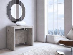 Elasto console - Dining Table / concrete
