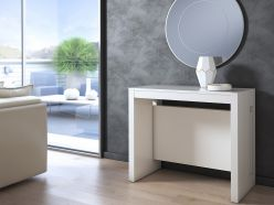 Elasto console - Dining Table / White