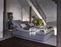 Ferrara Storage Bed / Gray