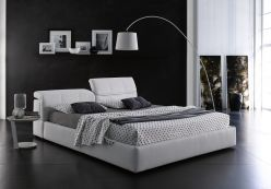 Ferrara Storage Bed / White